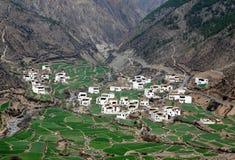 село Тибета Стоковое Изображение RF