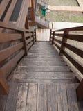 село трапа дома старое деревянное Стоковые Изображения RF