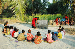 село школы стоковое изображение