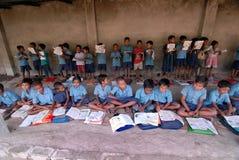 село школы стоковая фотография