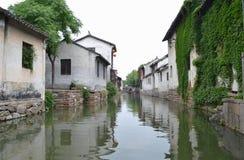 Село южного Китай стоковое фото rf