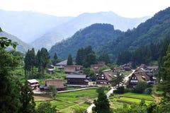 село японии gokayama Стоковое Изображение