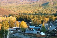 село baihaba стоковое изображение rf