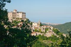 Село Balestrino старое Стоковая Фотография RF