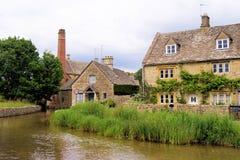 село cotswold стоковое изображение