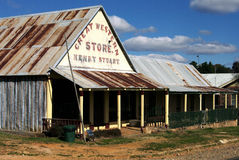 село goldfields Стоковое фото RF