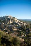 село gordes Франции стоковые фотографии rf