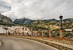 село grazalema малое Испании Стоковое Изображение RF