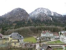 Село Hoheschwangau Стоковое Фото