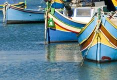 село malta рыболовства Стоковые Фотографии RF