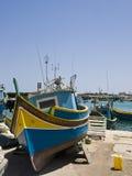 село malta рыболовства Стоковая Фотография