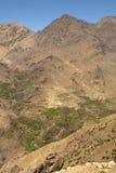 село montains berber атласа высокое Стоковое Изображение