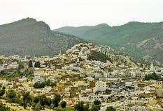 село moroccan холма Стоковые Изображения