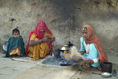 село rajasthani 4 жизней Стоковое Изображение RF