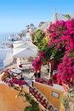 село santorini стоковые изображения