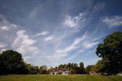 село stoneleigh Стоковое Изображение