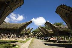 село toraja стоковое изображение rf