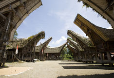 село toraja стоковая фотография rf