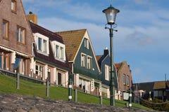 село urk набережной голландского рыболовства старое Стоковое Фото