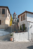 село xanthi Греции Стоковое Фото