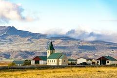 Сельская исландская ферма Стоковые Фотографии RF