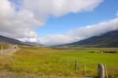 сельская местность Исландия Стоковые Фото