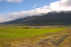 сельская местность Исландия Стоковая Фотография