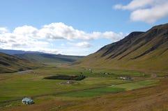 сельская местность Исландия Стоковые Изображения