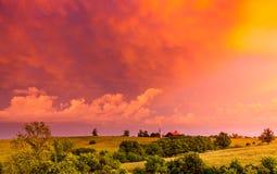 Сельская местность Кентукки стоковое изображение