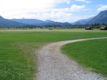 сельская местность открытая Стоковые Изображения RF
