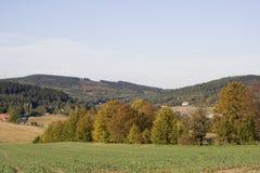сельская местность открытая Стоковая Фотография