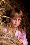 сельская местность ребенка Стоковые Изображения