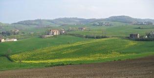 сельская местность рисуночная стоковое изображение