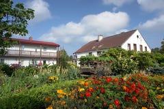 сельская местность садовничает дома Стоковые Фото