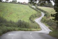 сельская местность своя замотка путя дороги Стоковое Фото
