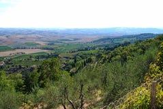 сельская местность Тоскана Стоковое Изображение RF