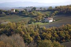 сельская местность Тоскана Стоковая Фотография RF