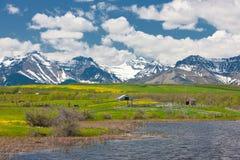 сельская местность утесистая стоковое изображение