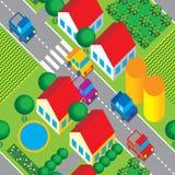сельская местность иллюстрация вектора
