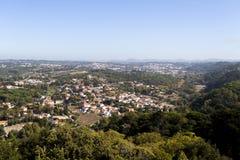 Сельская местность Spectacular Sintra Стоковые Изображения RF