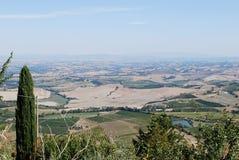 сельская местность tuscan Стоковые Фото