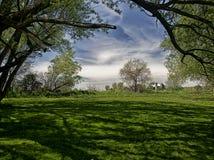 сельская тень Стоковые Изображения