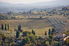 сельская Тоскана Стоковые Фотографии RF