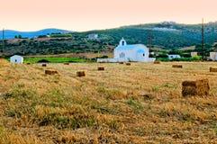 Сельская церковь Стоковые Изображения RF