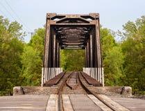 Сельская шпалера железной дороги стоковые изображения rf