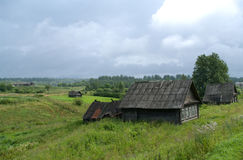 сельские дома Стоковое Изображение