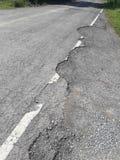 Сельские дороги ухудшают Стоковые Фото
