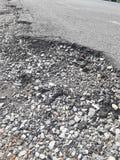 Сельские дороги ухудшают Стоковые Фотографии RF
