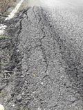 Сельские дороги ухудшают Стоковое Фото
