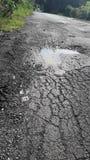 Сельские дороги ухудшают Стоковое фото RF